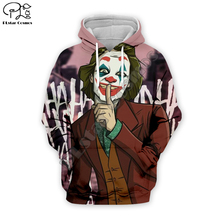 PLstar Cosmos Hot movie Joker Joaquin Phoenix Colorful Harajuku Tracksuit 3D Print Hoodie/Sweatshirt/Jacket/shirts Men Women s-2