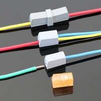 Connecteur de fil rapide terminales ressort kabel conector câble terminal eletrico connexion terminateur bloc connecteur faston 1 broche