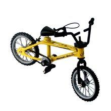 1шт мини-палец-BMX на любой велосипед игрушки сплав палец BMX и функциональный детский велосипед Finger велосипед БМХ отличное качество игрушки подарок