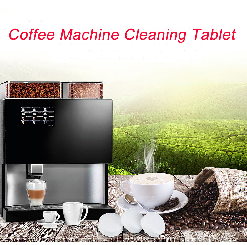 10 / 20 Pcs Espresso Coffee Machine Cleaning Tablet Effervescent Tablet Descaling Agent Kitchen Accessories