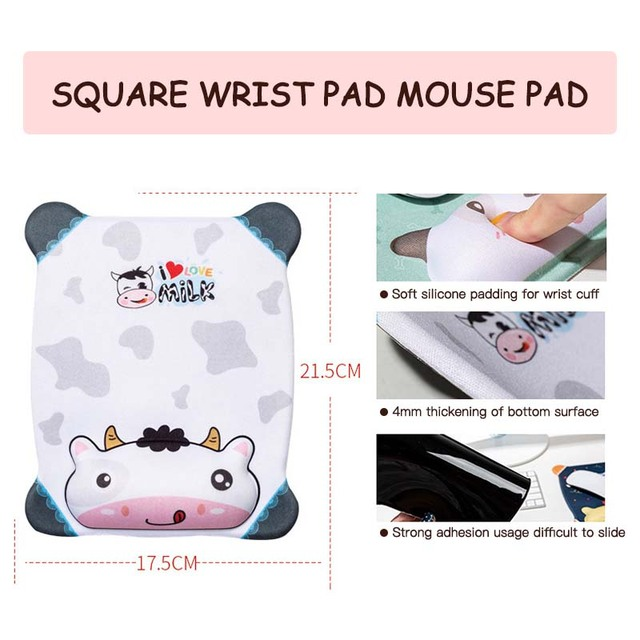 Cute Mouse Pad With Wrist Protect For Computer Laptop Notebook Keyboard Mouse Mat Comfort Silicone Mouse Pad Gaming Accessories 6