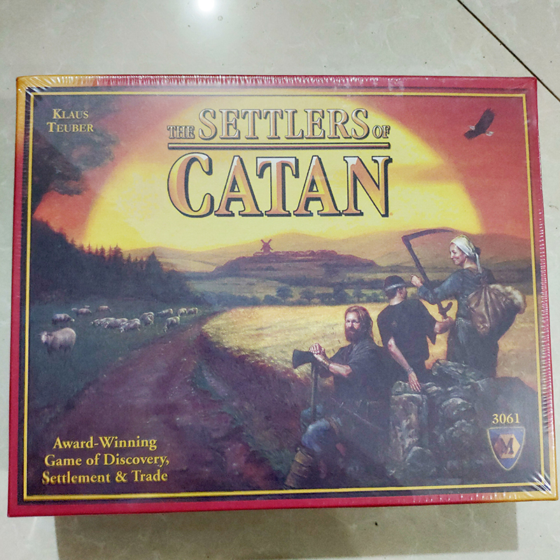 The Settlers Of Catan Board Game Award Winning New 5th Edition Sealed New