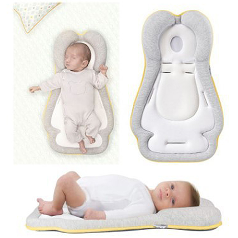 Baby Styling Pillows Baby Pillow Anti-Head Newborn Correction Sleeping Pad 0-12 Months Baby Shaping Pillows Decor Cushion