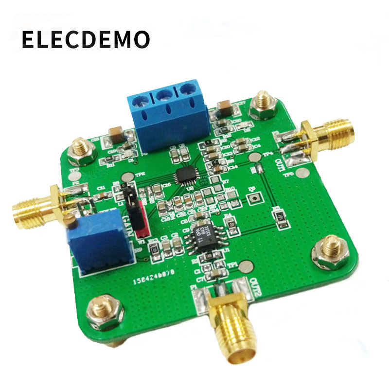 AD8368 Module Controlled Gain Amplifier Operational Amplifier Differential Amplifier Competition Module