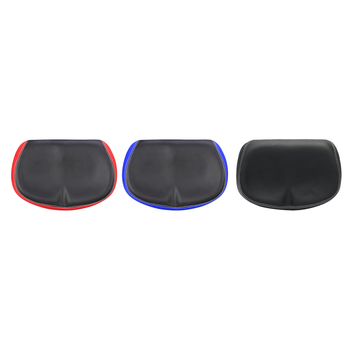 1PC Comfortable Bicycle Saddle Seat Soft PU Cushion Noseless Durable Shockproof Pad Cycling image
