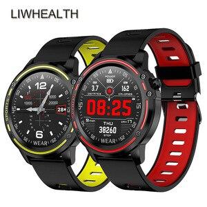 IP68 Смарт-часы для плавания для мужчин ЭКГ HR фитнес-трекер Браслет Smartwatch для IOS/huawei/Xiao mi PK mi Band 4/Fit Bit 5 Not