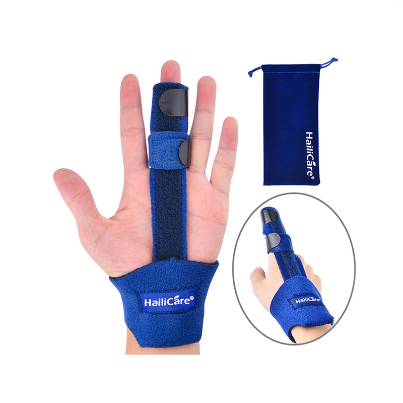 Finger Corrector Adjustable Brace Stabilizer Guard Support Splint Arthritis Tendonitis Sprained Pain Relief Rehabilitation Belt