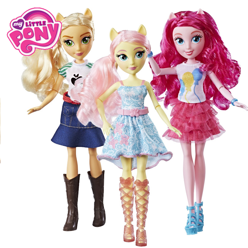 My Little Pony Equestria Girls Rainbow SPARKLE Twilight Action Figures Classic Toys For Children Baby Birthday