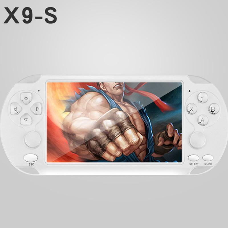 For PSP 8GB 5.1 Inch Handheld Game Players Handheld Game Player Camera Portable Game game boys Built-in 10000 games for kid gift