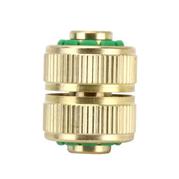 цена на Lang qi 1/2 3/4 tong ruan guan Quick Connector Repair Joint Pipe Extend Connection Pipe Two-way