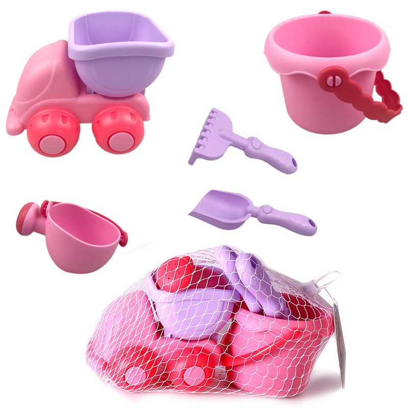 Children Summer Beach Toys For Kids Baby Game Toy Sandbox Set Kit Toys For Beach Play Sand Water Play Cart Birthday Kids Gifts