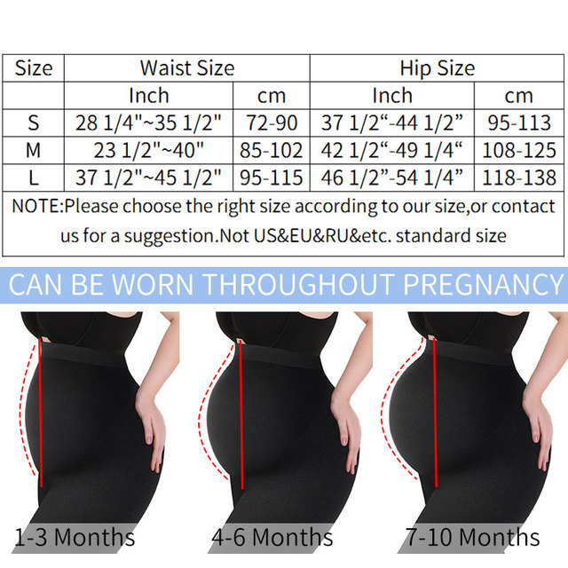 Maternity Leggings High Waist Pregnant Belly Support Legging Women Pregnancy Skinny Pants Body Shaping Fashion Knitted Clothes 6