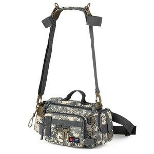 Image 3 - Fishing Gear Bag Multifunctional Fishing Tackle Bag Waist Bags Boat Bags Pouch Case for Fishing Gear Bags Fish Bag Rod