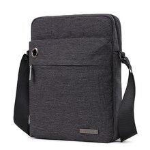 Casual Messenger Bag Men Waterproof USB Charging Bags For iP