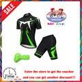 Комплект спортивной одежды для мальчиков и девочек nvvtrek Pro  комплект спортивной одежды для велоспорта Ropa Ciclismo  детская дышащая быстросохнущ...