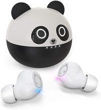 Fones de ouvido sem fio kids cute panda airpoddings 2 pro 3 max cartoon in ear hifi estéreo fones de ouvido sem fio para crianças presente fone de ouvido