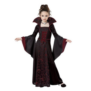 Image 2 - Halloween Costume Scary Witch Vampire Cosplay Childrens performance Masquerade Dress Evening Party Carnival Ball Gowns for Girl