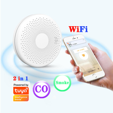 Sensor Alarm-Co-Detector And Tuya Battery Wifi-Compound Smart-Life Included Ultra-Thin