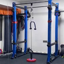 Шкив для тренировок, кабельная система для самостоятельной загрузки, подъемное устройство, фитнес-оборудование с регулируемой длиной, аксе...