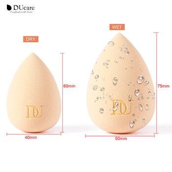 DUcare 1PC Makeup Foundation Sponge Cosmetic Puff Beauty Egg Blending Foundation Smooth Sponge Water Drop Shape Makeup Tools 4