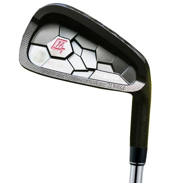 Erkekler yeni Golf kulüpleri MTG itobori Golf ütüler 4 9 P kulüpleri ütüler seti grafit şaft veya çelik mil R veya S esnek ücretsiz kargo