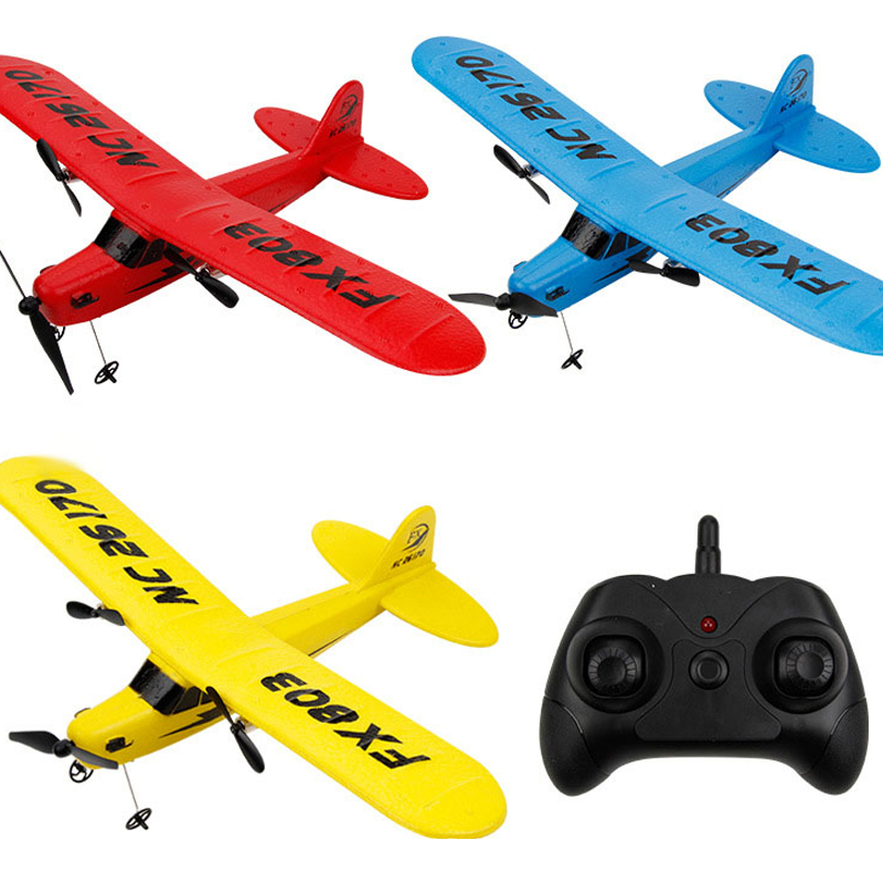 Beginner Electric RC Airplane Remote Control 120 meters Airplane Glider Plane Cassnad More Battery can Improve Fly Time
