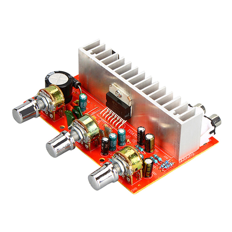 TDA7377 Digital <font><b>Audio</b></font> <font><b>Amplifier</b></font> Board 40W 40W Stereo 2.0 Channel power amplificador for <font><b>Car</b></font> <font><b>DIY</b></font> speaker DC12V For Home Theater image