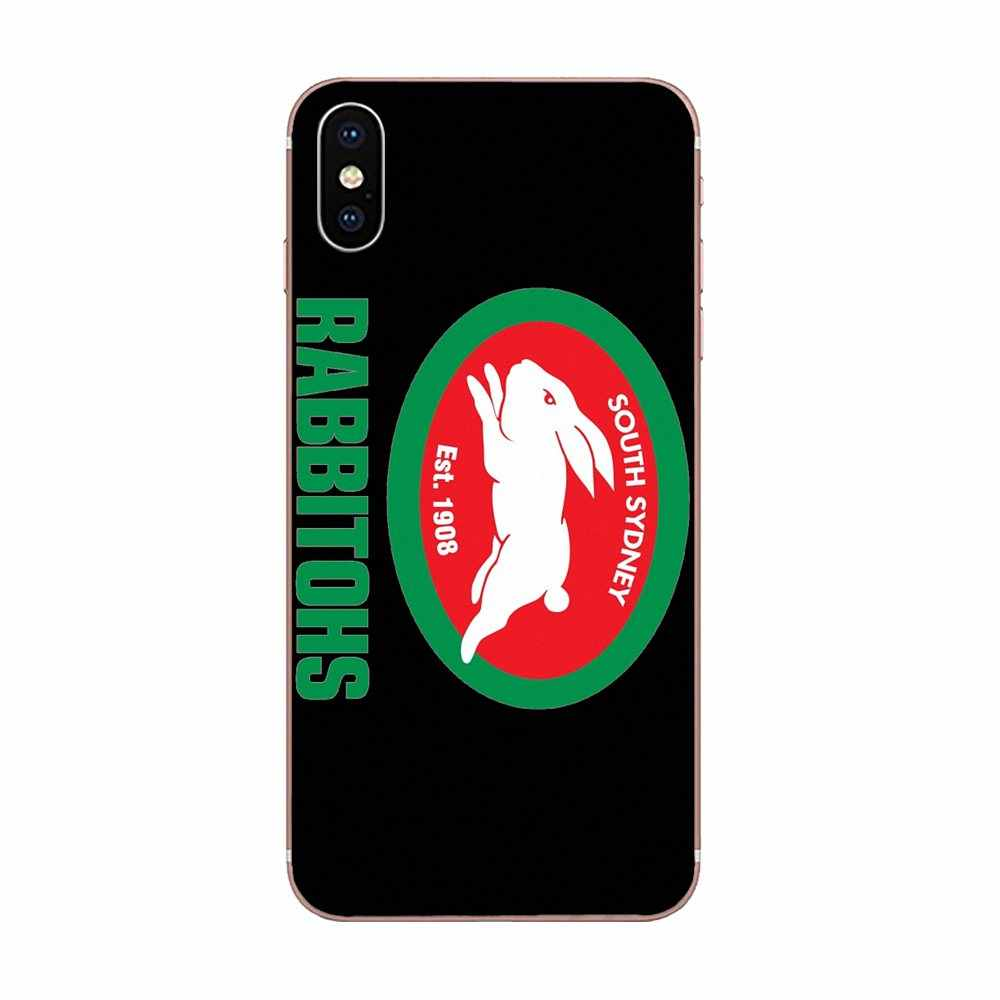 South Sydney Rabbitohs Logo For Apple Iphone X Xs Max Xr 4 4s 5 5c 5s Se 6 6s 7 8 Plus Soft Shell Aliexpress