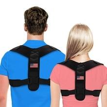 Adjustable Brace Support Belt Anti-Humpback Back Posture Corrector Breathable Clavicle Spine Shoulder Lumbar Correction