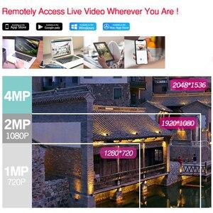 Image 3 - Dahua 4MP 4 + 2/4 Sicherheit CCTV Kamera Kit Original NVR NVR4104 P 4KS2 16POE & 2/4 stücke OEM IP Kamera Zoom IPC HFW4431R Z 4X ZOOM