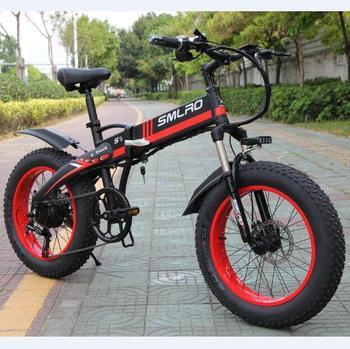 S9F Hot Sale Electric Bike 20 inch 750W/1000W motor 10AH battery folding electric bicycle 2