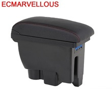 Modification Decorative Car Arm Rest Car-styling Automovil Accessories Styling Decoration Mouldings Armrest Box FOR Skoda Rapid