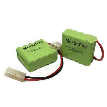 MasterFire 2PACK/LOT Original New Ni-MH 12V 800mAh AAA Battery Rechargeable Batteries Pack With Plugs