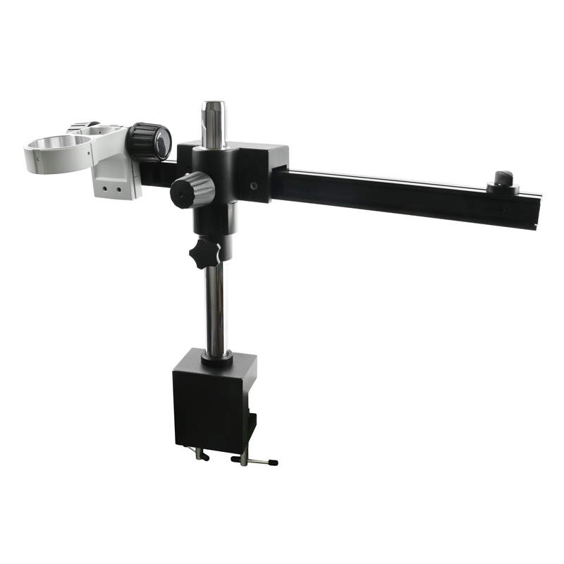 Universal Adjustable Direction Boom Clamp Holder Bracket Arm 76mm Microscope Stand  For Stereo Trinocular Microscopio