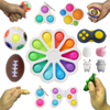New Early Educational Autism Special Need Fidget Simple Dimple Toy Fit Brain Toys Stress Relief Hand Fidget Toys For Kids Adults