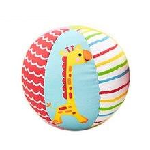Детские игрушки для детей мячики с животными мягкие плюшевые