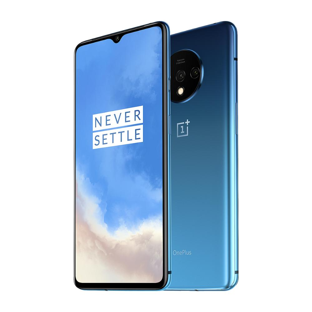 OnePlus 7T Globale Version 8GB 128GB Snapdragon 855 Plus Octa Core 48MP Triple Kameras 90Hz Fulid AMOLED 3800 mAh UFS 3,0 NFC