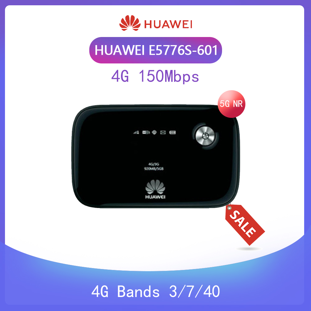 Unlocked Huawei E5776 E5776S-601 150Mbps 4G LTE Mobile WiFi Hotspot Wireless Router +2pcs Antenna Pk E8372 E5573 E5577