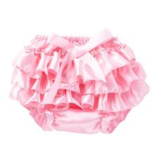 Maluch ubrania dla niemowląt niemowlę dziewczyna Bowknot krótkie spodnie wzburzyć Bloomer bielizna dla niemowląt pieluchy dla niemowląt noworodka krótkie spodnie tanie tanio Poliester Dla dzieci Pasuje prawda na wymiar weź swój normalny rozmiar Szorty Stałe baby short Dziecko dziewczyny baby shorts