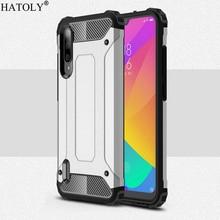 For Cover Xiaomi Mi A3 Case Anti-knock Rugged Armor Back Cov