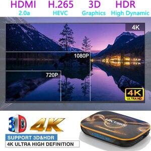 Image 2 - 2020 Hottest HK1 RBOX Smart Tv Box Android 10.0 Tv Set top box 4K 2gb 4gb 16gb 32gb 64gb Quad Core media player