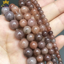 Purple Aventurine Stone Beads Natural Round Loose Spacer Beads For Jewelry DIY Making Bracelet Charms Accessories 15'' 6/8/10mm