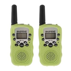Image 3 - BaoFeng 2 sztuk/zestaw BF T3 UHF462 467MHz dzieci Walkie Talkie 22 kanały dla dzieci prezent dla dzieci Radio Kid Walkie Talkie + zaczep na pasek