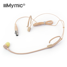 Perfect for Singing !! PRO Unidirectional Headset Headworn Microphone 4 Pin XLR TA4F Condenser Mic for Shure Wireless Bodypack