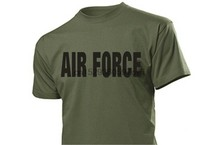 Air Force T-shirt Us Army Airforce Militaire S-XXL Training Navy Marines Piloten(China)