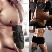 Smart EMS Muscle Trainer Electric Muscle Stimulator Wireless Buttocks Hip Abdominal ABS Stimulator Fitness Slimming Gel Massager(China)