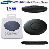 SAMSUNG EP-P1100 S10 S9 più veloce QI Wireless Charger 15W Pad di ricarica rapida per Galaxy S8 S9 S10 S20 inoltre S10E nota 8 9 10 più