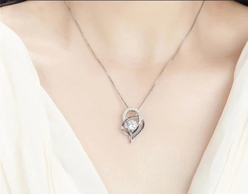 Women Necklace Jewelry Mother in Law Gifts from Daughter Crystal Choker Necklaces Pendant With Gift