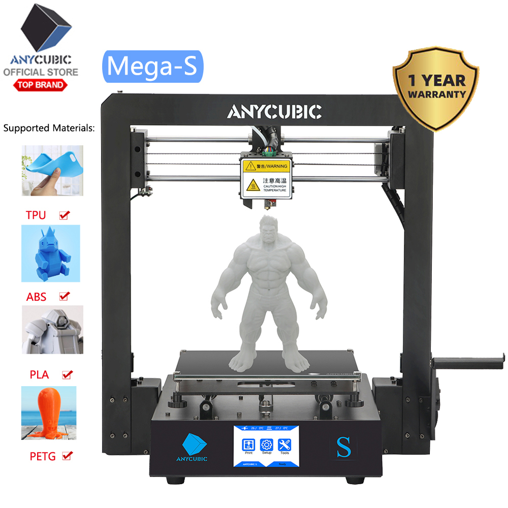 ANYCUBIC 3d-Printer Metal-Frame Touch-Screen I3 Impressora Mega-Upgrade TPU DIY Large-Size title=