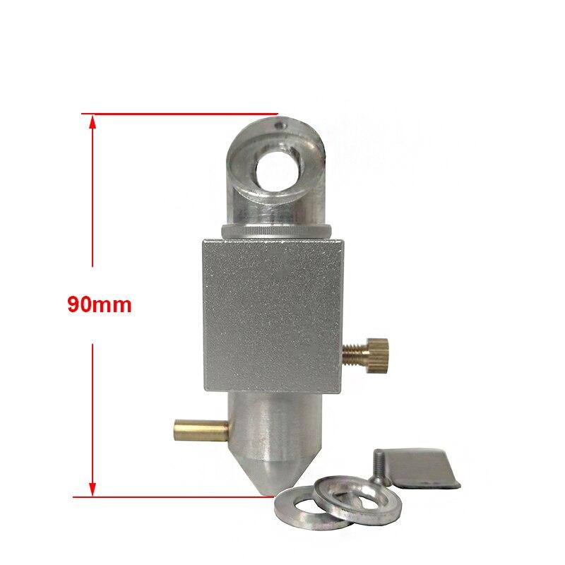 СО2 лазерная головка интегративное Крепление объектива зеркальная воздушная насадка для 2030 3050 4060 K40 лазерная гравировка резка гравер резак